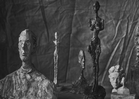 LINDBERG Alberto Giacometti, Group Of Nine, Zurich 2016, 2016_Gagosian