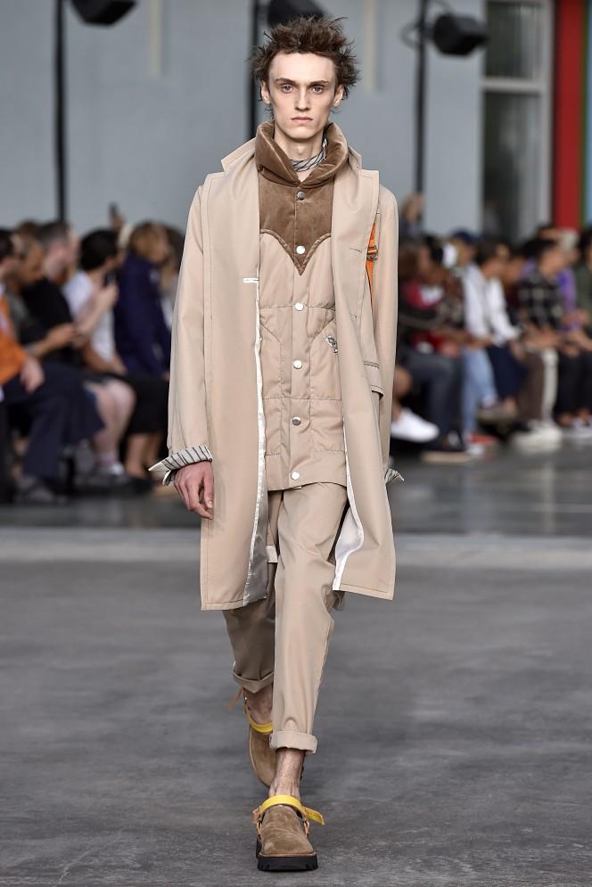 Sacai Paris Menswear Spring Summer 2018 Paris June 2017