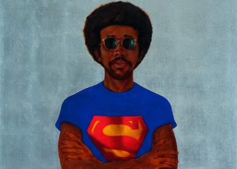 Barkley Hendricks, Icon For My Man Superman (Superman Never Saved Any Black People-Bobby Seale)
