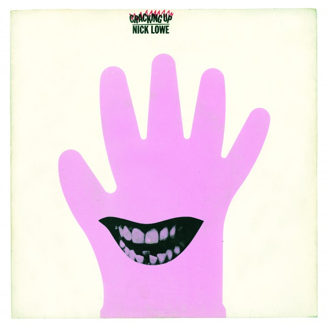 Cracking Up by Nick Lowe 1979. Design by Barney Bubbles Estate